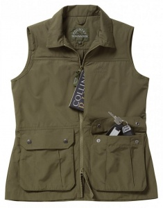 Country Innovation Venture Waistcoat Ladies - Green