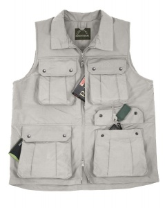 Country Innovation Venture Waistcoat - Stone: XXL - XXXL