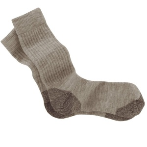 Tilley Walking Socks: Khaki