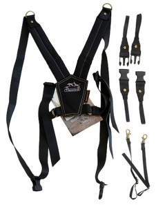 Trekking Safari Photographic Harness - Sport Black