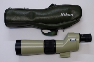 Used Nikon D=60 P Fieldscope with 20x eyepiece