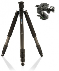 Viking TR100 Pro Carbon Fibre Tripod with KH-1 Head