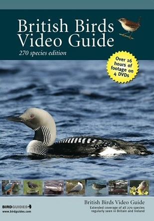 British Birds DVD Video Guide 270 Species Edition