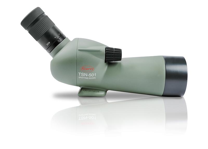 Kowa tsn 501 spotting scope with 20 40x zoom eyepiece the birders store