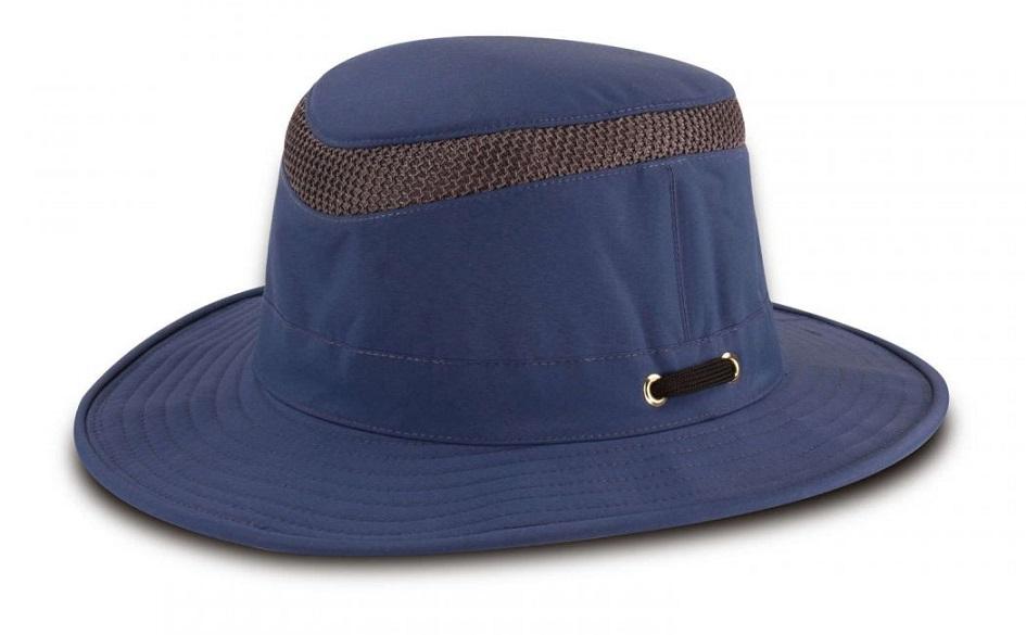 70009821f00 Tilley Airflo Hat (LTM5) - Blue The Birders Store