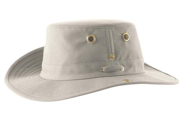 eec1077f4b7 Tilley Cotton Snap Up Brim Hat T3 The Birders Store
