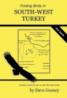 Finding Birds In South-West Turkey Book