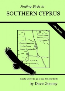 Finding Birds in Southern Cyprus Book