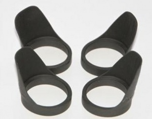 Field Optics Eyeshield Winged Eyecups Compact Size Twin Pack