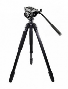 Kite Ardea Carbon Fibre tripod with Manfrotto MVH500AH Video Head