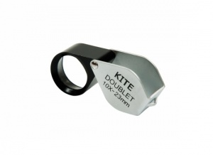 Kite Optics Doublet Loupe Hand Lens 10x