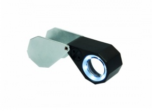 Kite Optics LED Triplet Loupe Hand Lens 20x