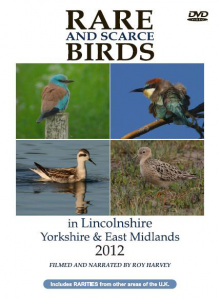 Rare and Scarce Birds in Lincolnshire, Yorkshire & East Midlands 2012 DVD