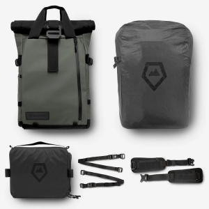 WANDRD PRVKE 31 Backpack Photography Bundle - Wasatch Green