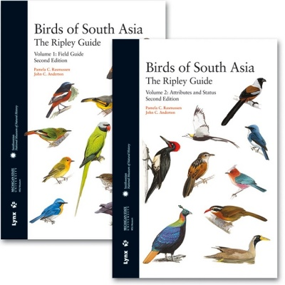 Birds of South Asia: The Ripley Guide