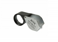 Kite Optics Doublet Loupe Hand Lens 15x