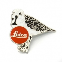Leica Spoon-billed Sandpiper Pin Badge
