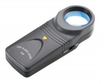 Opticron LED Illuminated Hand Magnifier 10x